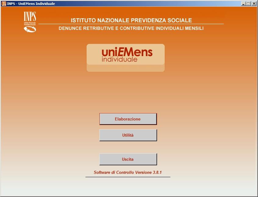 INPS – Nuova versione software controllo UniEmens Individuale
