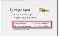 PagheOpen aggiornamento 01.83