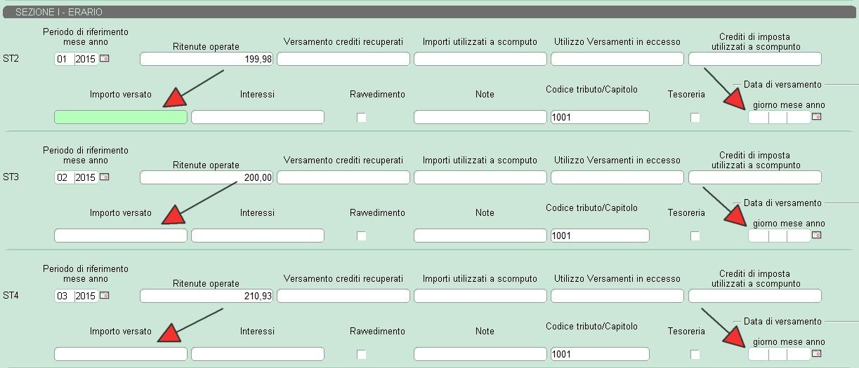 Nota operativa per compilazione 770 semplificato