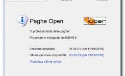 PagheOpen – nuovo aggiornamento tabelle 01.86
