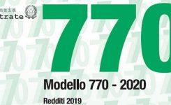 PagheOpen – Istruzioni per 770/2020